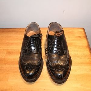 Armando black genuine leather made in Italy size43